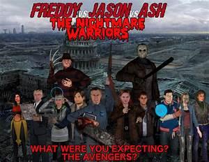 Freddy Vs Jason Ash Nightmare Warriors TAM By