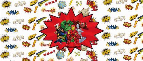 marvel superheroe squad  printable candy bar labels
