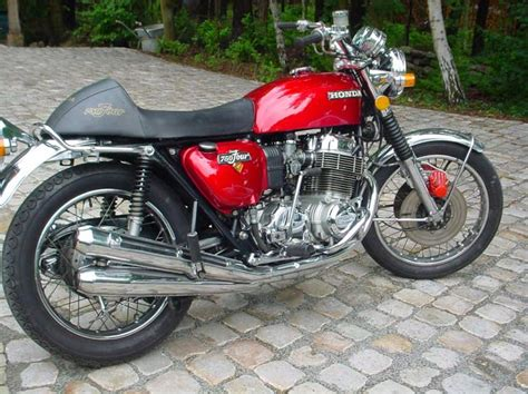 Vintage Honda Motorcycles