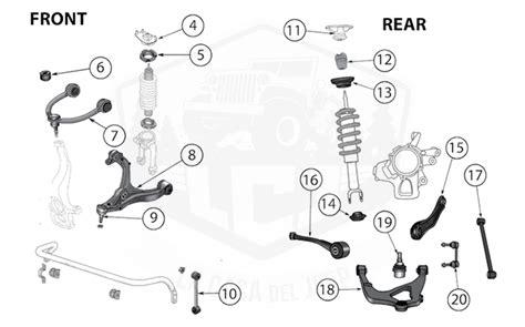 diagrams  jeep suspension parts grand cherokee wk