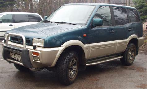 nissan terrano 1996 1996 nissan terrano ii pictures 2400cc gasoline manual
