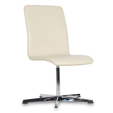 chaise bureau sans accoudoir chaise oxford cuir premium fixe sans accoudoirs chaises