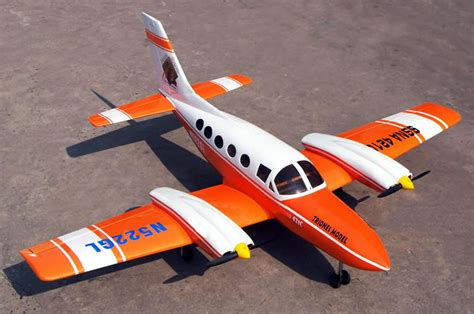 Scale Rc Aircraft Twin-engine Sky Trainer 46