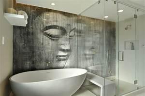 quelques idees pour la deco salle de bain zen With salle de bain design avec décoration batman anniversaire