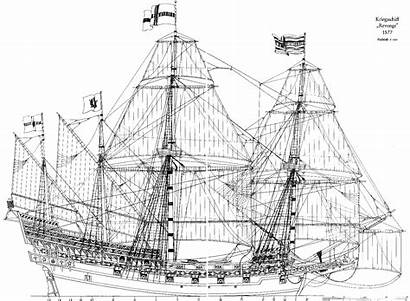 Drawing Ship Plans Drawings Ships Wooden Frigate