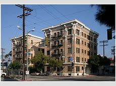 Young Apartments on Grand Avenue Downtown Los Angeles