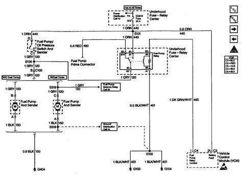 gm fuel wiring wiring schematics diagram