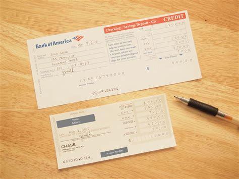 fill   checking deposit slip  steps