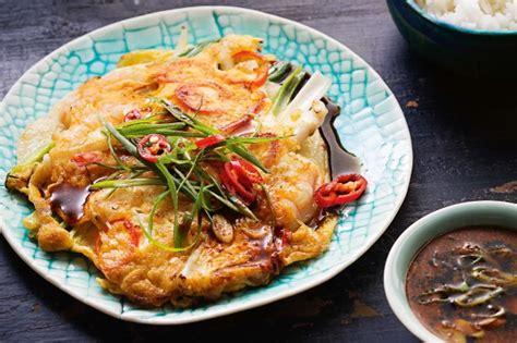 korean seafood pancake recipe tastecomau