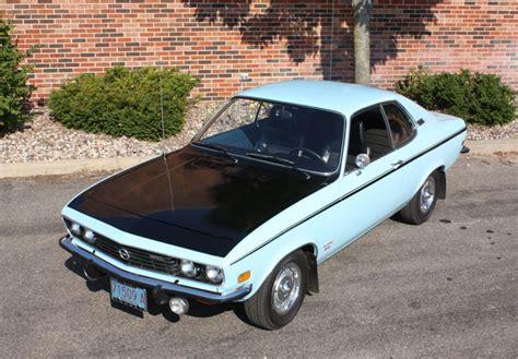 1973 opel manta car of the week 1973 opel rallye manta