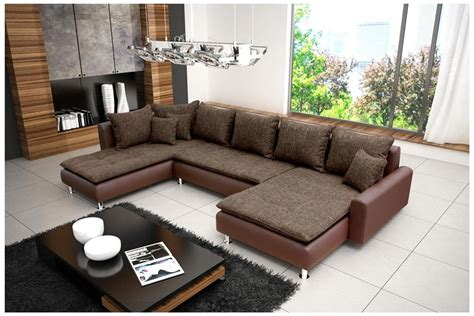 canap 233 d angle en u royal sofa