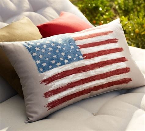 traditional pillows by pottery barn holidays july 4th