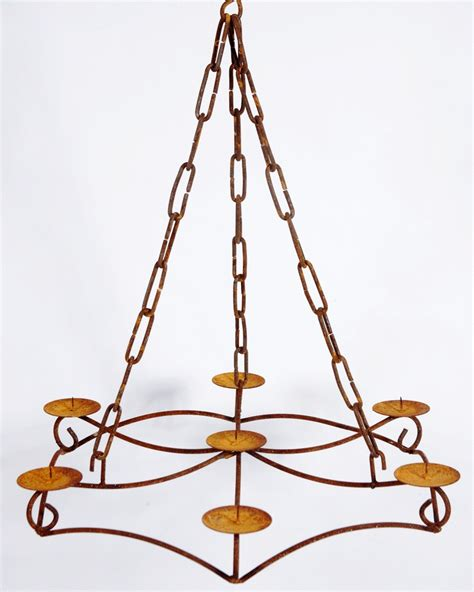 wrought iron chandelier candelabra