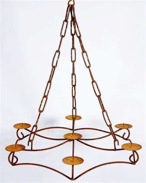 wrought iron chandelier candelabra