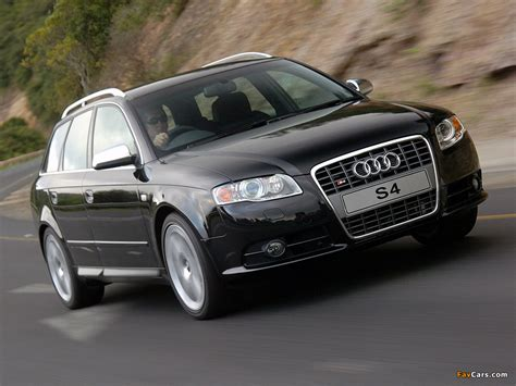 Photos Of Audi S4 Avant Za Spec B78e 200508 1024x768