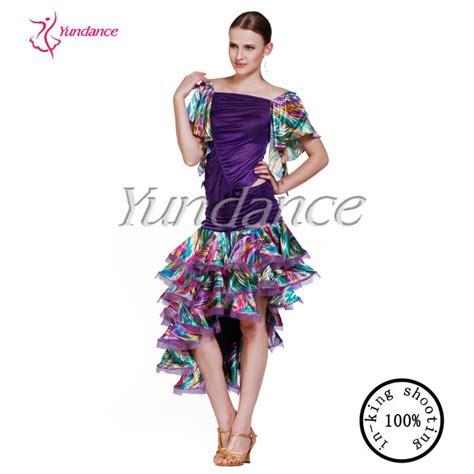 AB008 Classical Modern Dance Wear Girl Dance Costume Children Latin Dance Practice Wear View ...
