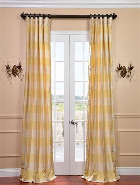 Silk Plaid Drapes - knotts landing silk taffeta plaid curtain contemporary