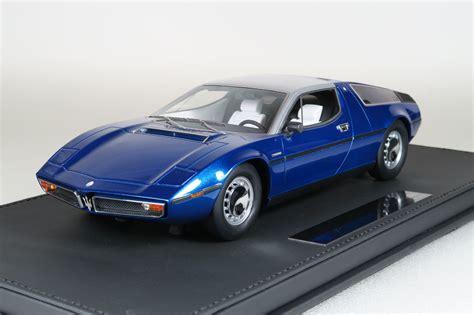 maserati bora top marques collectibles maserati bora 1 18 blue top25b