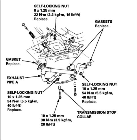 2000 Acura Rl Engine Diagram by Replacing The Starter Six Cylinder Front Wheel Drive