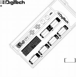 Digitech Rp6 User Manual