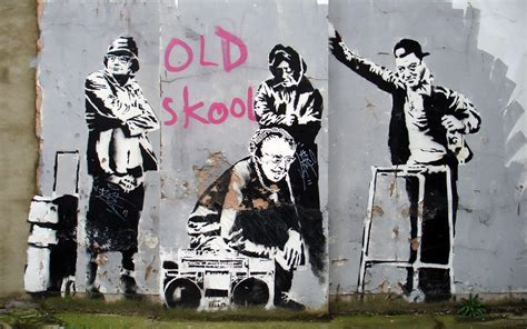 Banksy Old Skool