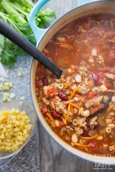 Copycat Johnny Carino's Italian Chili