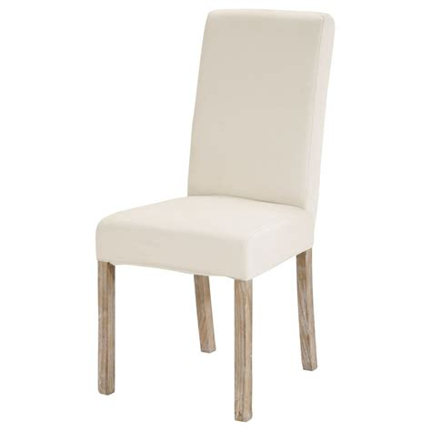 chaise metal maison du monde ivory chair slipcover margaux margaux maisons du monde