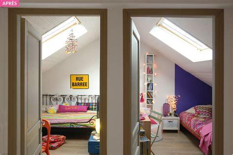 chambre sous combles aménagement combles chambre sous les toits maison créative