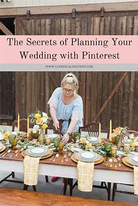 The Secret to Planning Your Wedding With Pinterest