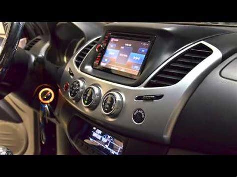 Instalación Kenwood DDX5025BT en Mitsubishi L200 - YouTube