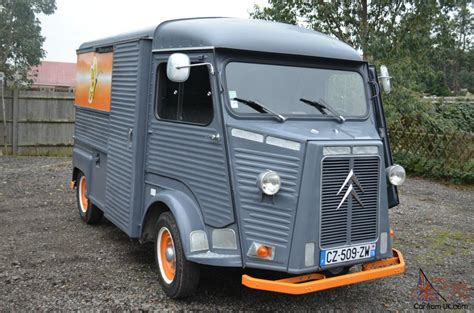 Citroen Hy by Citroen Hy A Real Eye Catching Classic Vehicle