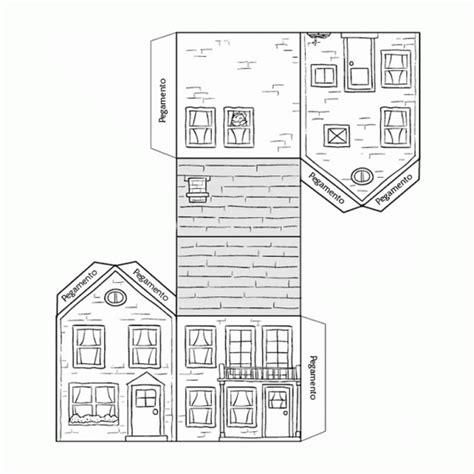 recortables casas edificios  paper craft houses