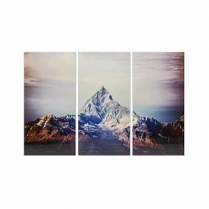 Tableau En Verre : tableaux en verre montagne matterhorn kare design ~ Melissatoandfro.com Idées de Décoration