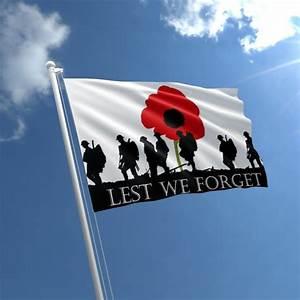 Lest We Forget Flag