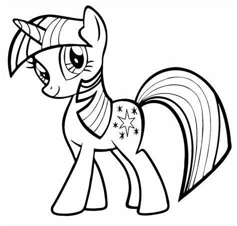 color my pictures my pony coloring pages