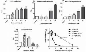 Intracellular Concentration Of H2o2  A   Superoxide Anion  B   Nitric
