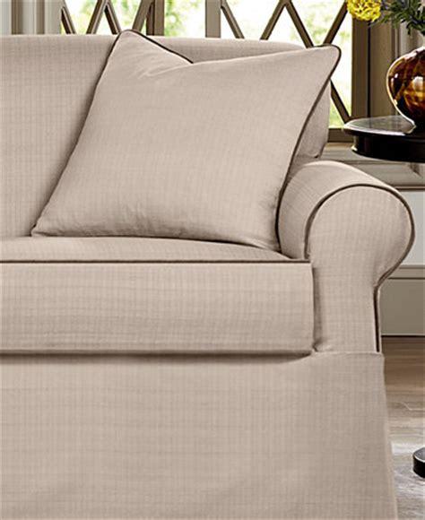 macys sofa covers sure fit bahama 2 sofa slipcover slipcovers for
