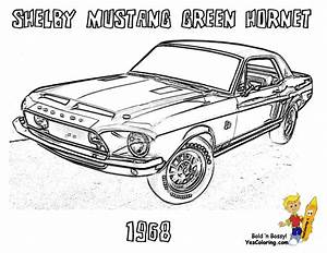 hot rod free colouring pages With 1966 ford shelby co
