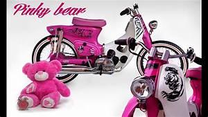 Honda C 800 Astrea Clip Street Cub Pinky Bear