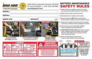 Battery Charger Instructions By Bigjoelift