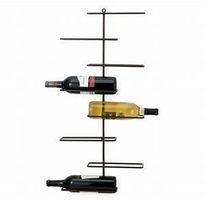 Support Bouteille Mural : support mural pour 8 bouteilles de vin en m tal versa deco d coration int rieure ~ Carolinahurricanesstore.com Idées de Décoration