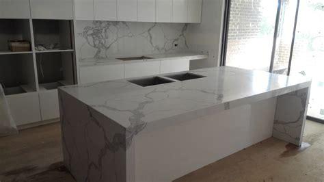 calacatta marble calacatta statuario quartz kitchen pantry install