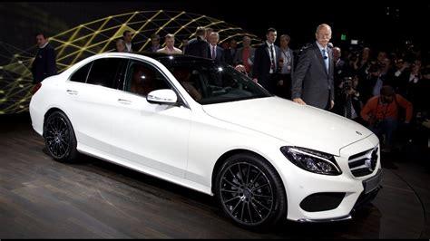 The new plus factor for business. New Mercedes C-Class W205 2014/2015 (USA) in Detroit NAIAS - neue C-Klasse Autogefühl Autoblog ...