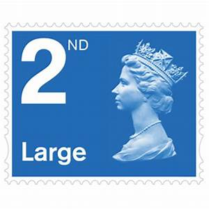 royal mail 2nd class large stamps x 4 pack postage With large letter stamp