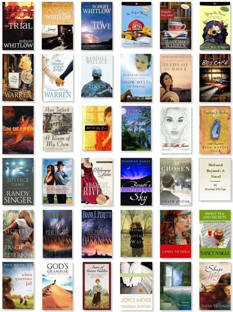 Best Selling Fiction Authors by My Favorite Christian Fiction Books Christian Fiction