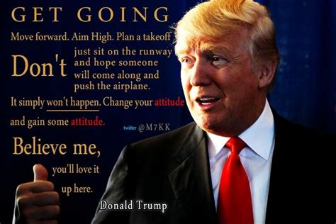 donald trump motivational quote good quotes pinterest