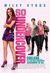 SO UNDERCOVER Trailer and Two Posters starring Miley Cyrus ...