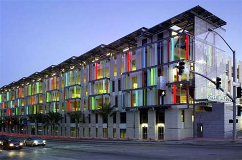 First Leed Certified Parking Garage  Yanko Design