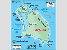 Antigua and Barbuda Maps Including Outline and