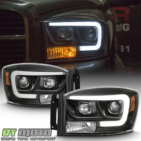 2006 Dodge Ram 1500 Lights by Black 2006 2008 Dodge Ram 1500 2500 3500 Led